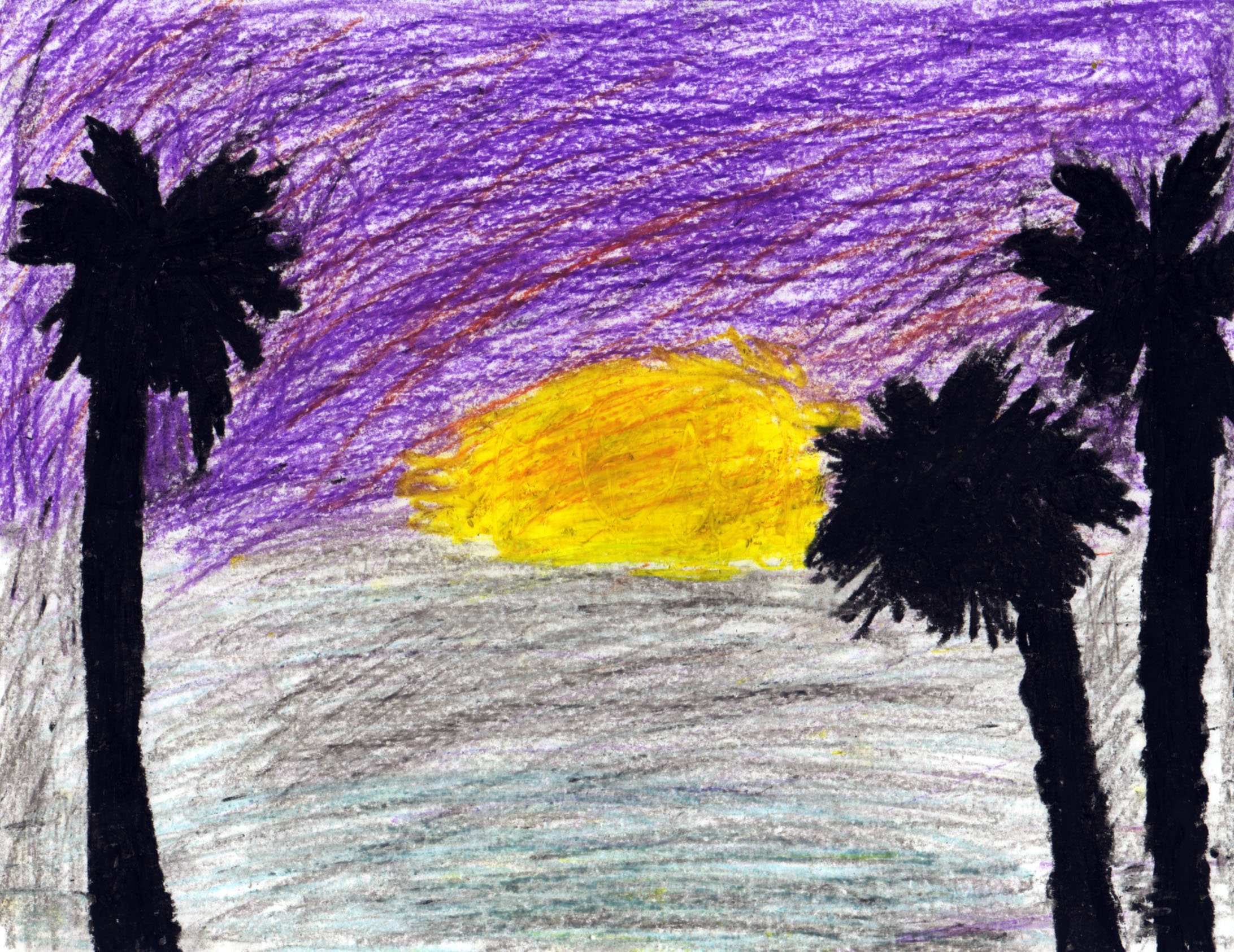 Best Sunset Drawings The Perfect California Sunset